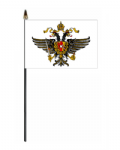1st Queen's Dragoons Hand Flag - Small.